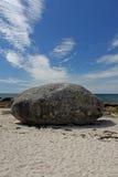 Rocky Coastline, Near Concarneau, Brittany Royalty Free Stock Photo