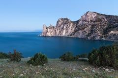 Rocky coastline of Stock Images