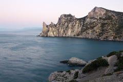 Rocky coastline of Royalty Free Stock Photos