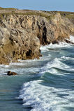 Rocky coastline of Quiberon in France