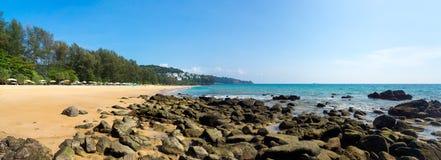 Rocky coastline on Samui Island Stock Photography