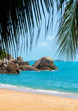 Rocky coastline on Samui Island Stock Photography
