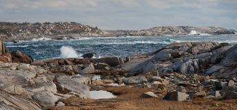 Rocky Coastline Seascape photographie stock