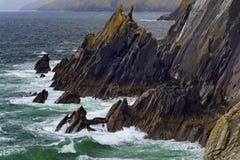 Rocky coastline at Slea Head Stock Photography