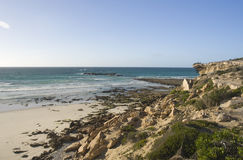 Rocky coastline of South Africa Stock Photos