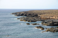 Rocky coastline of Tenerife Stock Photo