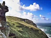 Rocky coastline Royalty Free Stock Photo