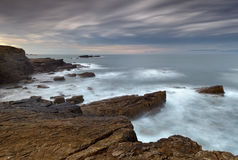 The rocky coasts Royalty Free Stock Images