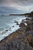 The rocky coasts Stock Images