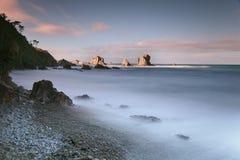 Rocky coasts Stock Photography