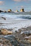 Rocky coasts Royalty Free Stock Photo