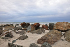 Rocky Coronado-Strand Stockfoto
