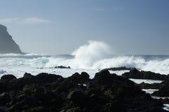 Rocky Costadel Buenavista beach, Tenerife, Canary, Spain Royalty Free Stock Photo
