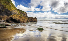 Rocky Cove in Cornwall Royalty Free Stock Photos