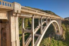 Rocky Creek Bridge Stock Photo
