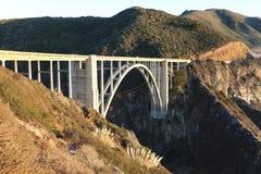 Rocky Creek Bridge in Monterey, CA stock fotografie