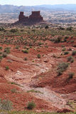 Rocky desert Stock Photo