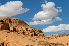Rocky desert landscape Royalty Free Stock Photos