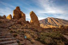 Rocky desert landscape Stock Images
