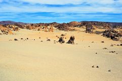 Rocky Desert Royalty Free Stock Photo
