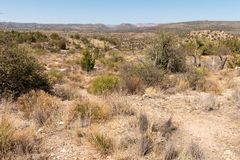 Rocky Arizona desert Stock Photography