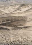Rocky Desert på den Skelleton kusten (Namibia) Arkivfoto