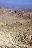 Rocky desert of southern Jordan Stock Image