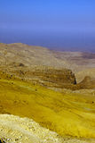 Rocky desert of southern Jordan Stock Photography