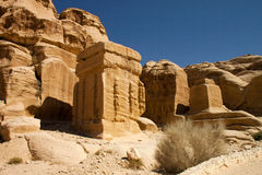 Rocky desert of southern Jordan, Asia Stock Photo