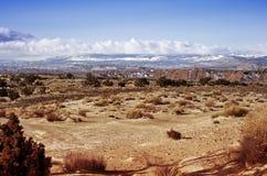 Rocky Desert of Utah. Utah State Landscape. Horizontal Photography Stock Photography