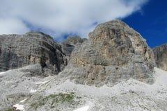 Rocky Dolomite Alps Immagine Stock