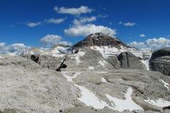 Rocky Dolomite Alps Immagini Stock