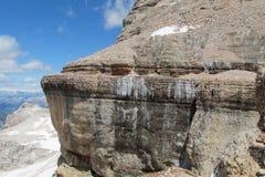 Rocky Dolomite Alps Fotografia Stock