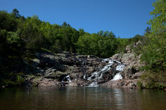 Rocky Falls Stock Photography