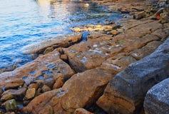 Rocky Foreshore, porto de Sydney, Austrália foto de stock royalty free