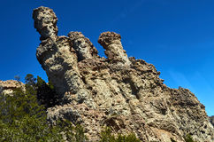 Rocky formation in the Enchanted Valley Royalty Free Stock Images