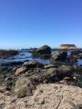 Rocky Glass Beach, Fort Bragg, California Royalty Free Stock Photography