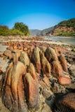 Rocky Goa coastline Stock Images