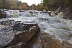 Rocky gorge waterfall Stock Photo