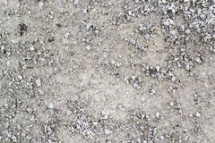 A rocky ground texture. A closeup photo of rocky ground texture royalty free stock photo