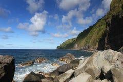 Rocky Hawaiian Shore Stock Photography