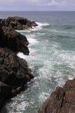 Rocky Headland in Noordelijke NSW, Australië Royalty-vrije Stock Afbeelding
