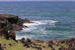 Rocky Headland in Noordelijke NSW, Australië Royalty-vrije Stock Foto