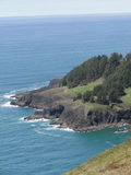 Rocky headlands and surf. Along the Oregon coast Stock Images