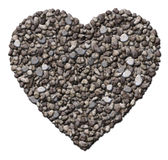 Rocky Heart Imagens de Stock Royalty Free