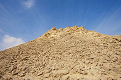 Rocky hill in a desert Royalty Free Stock Photography
