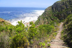 Rocky hill by the ocean Royalty Free Stock Photography