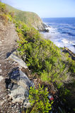 Rocky hill by the ocean Royalty Free Stock Images