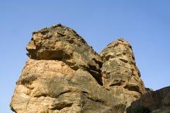 Rocky Hills at Badami Royalty Free Stock Photo