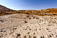 Negev Desert in Israel Royalty Free Stock Images